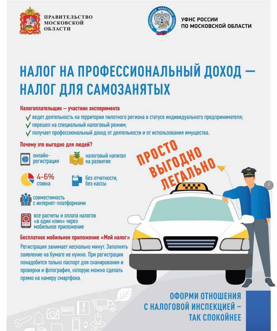 Самозанятый ИП такси